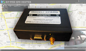 GPS Unit: a small box